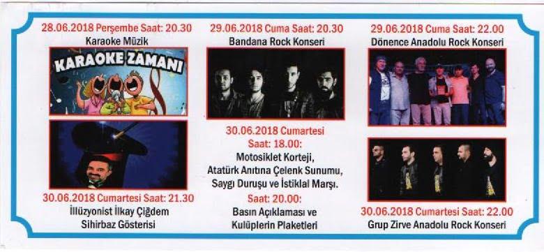 motosiklet - Köyceğiz Belediyesi & Ege Yolcu 7. Motosiklet Festivali